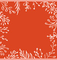 autumn background tree leaves vector image vector image