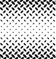 Black and white diagonal ellipse pattern vector image vector image