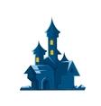 dark castle of vampires vector image vector image