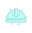 helmet labor icon design vector image