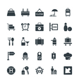 Hotel and Restaurant Cool Icons 4 vector image vector image