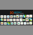 mega collection of colorful technology web and vector image vector image