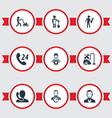 set of simple service icons