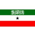 Somaliland flag vector image vector image