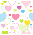 Spring hearts pattern vector | Price: 1 Credit (USD $1)