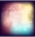 subtle blurry glowing bokeh backgrounds with vector image