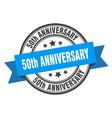 50th anniversary label anniversaryround band