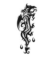 abstract trible dragon vector image vector image
