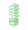 compact fluorescent lamp design vector image vector image