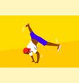 dance hip hop sport competition performance vector image