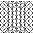 Design seamless monochrome floral pattern vector image vector image