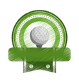 golf icon image vector image vector image