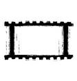grunge filmstripe vector image vector image