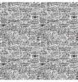 seamless pattern for christmas on a white vector image vector image
