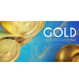 abstract background with 3d gold element golden
