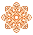 Floral decorative elements vector image