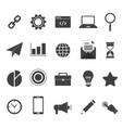 set 20 business icon for your project vector image vector image
