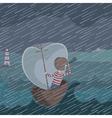 storm vector image