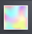 universal holographic blur texture abstract color vector image vector image