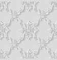 Vintage pattern background vector image vector image