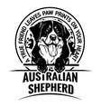 australian shepherd dog - dog happy face paw puppy
