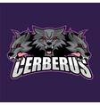 cerberus logo vector image vector image