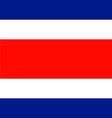Costa Rica vector image