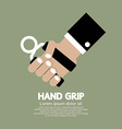 Hand Grip Graphic vector image vector image