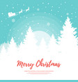 merry christmas design element template vector image vector image