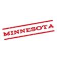 Minnesota Watermark Stamp vector image vector image