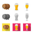 pub and bar symbol vector image vector image