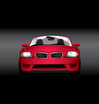 car red vector image