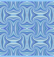 blue seamless psychedelic geometrcial spiral vector image vector image