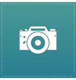 Digital photo camera vector image vector image