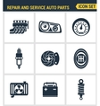 icons set premium quality repair and service vector image vector image