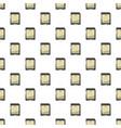 memory card pattern vector image vector image