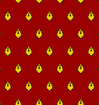 Royal seamless pattern for mantle for King vector image vector image