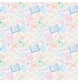 Seamless pattern Back to school vector image