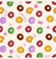 Beautiful seamless pattern with colorful