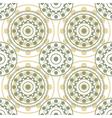 circles seamless pattern vector image vector image