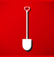 pick and shovel symbol vector image