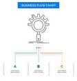 seo search optimization process setting business vector image vector image