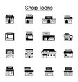 set shop icons contains such icons as vector image