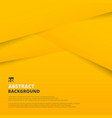 abstract of yellow gradient paper cut pattern vector image