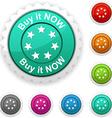 Buy it now award vector image vector image
