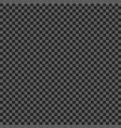 checkered geometric pattern black and grey vector image vector image