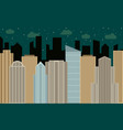 city2-30 vector image vector image