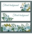 Cute web banners design template vector image vector image