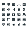 Design and Development Cool Icons 3 vector image vector image