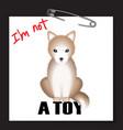 dog t-shirt print vector image